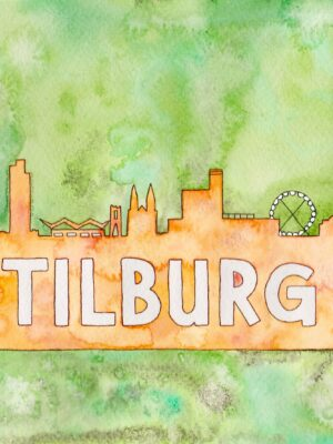 Tilburg groen oranje